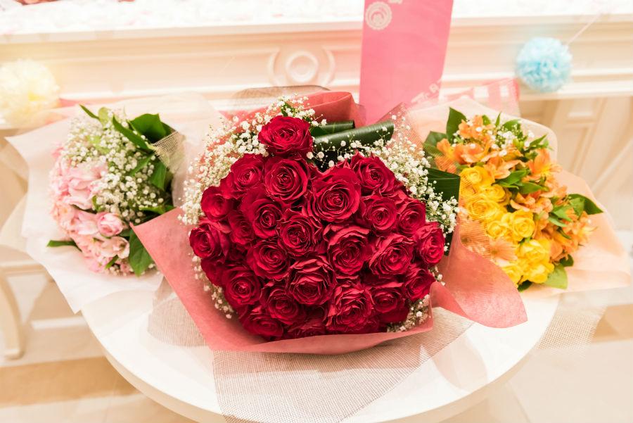 サプライズ花束2